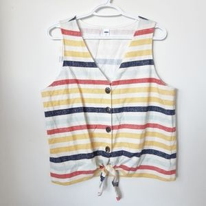 Old Navy Striped Tank Top